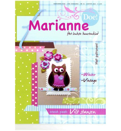 Marianne Design - Marianne Doe - Magazine No. 16 - DOE16