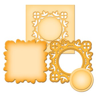 Spellbinders - Die - D-Lite - Medallion Two