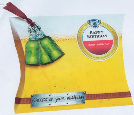 Studio Light -  Cadeaudoosje - Happy Birthday