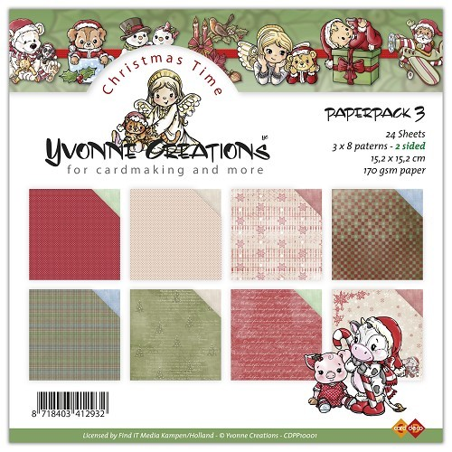 Yvonne Creations - Paperpack - No. 3 - CDPP10001