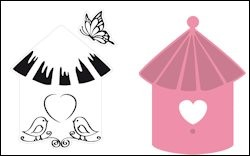 Marianne Design - Die - Collectables - Birdhouse birds
