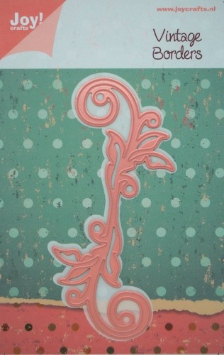 Joy! crafts - Noor! Design - Die - Vintage Borders - Swirl bladeren