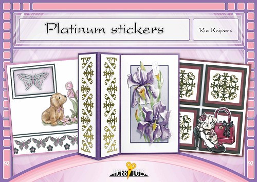 Card Deco - Hobbydols - No. 92 - Platinum stickers