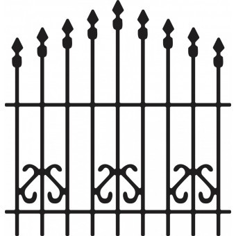 Cheery Lynn Design - Die - Ornamental Gate - B196