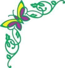 Cheery Lynn Design - Die - Butterfly out - B204