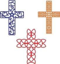 Cheery Lynn Design - Die - Cross set - B207