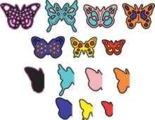 Cheery Lynn Design - Die - Mini Dimensional Butterflies - D138