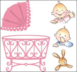 Marianne Design - Die - Collectables - Eline`s baby - COL1313