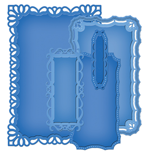 Spellbinders - Die - Nestabilities - Majestic Elements - Resplendent Rectangles