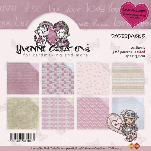 Yvonne Creations - Paperpack - No. 5 - CDPP10003