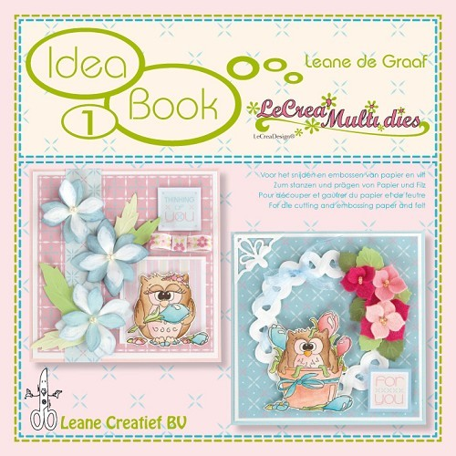 Leane Creatief - Idea Book 1 - LeCrea Multi Dies - 90-8695