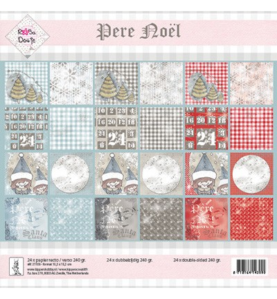 Rosa Dotje - Paperpack - Pere Noël - 21103