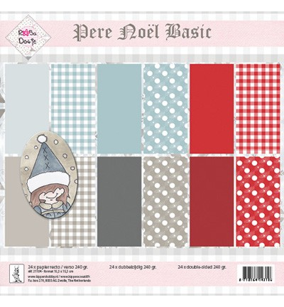 Rosa Dotje - Paperpack - Pere Nol Basic - 21104
