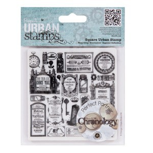 Papermania - Cling Stamp - Chronology - Apothecary - PMA907143