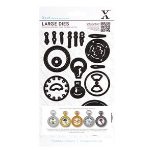 Docrafts - Xcut - Large Dies - Chronology - Pocket Watch