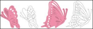 Marianne Design - Die - Collectables - Tiny`s butterflies