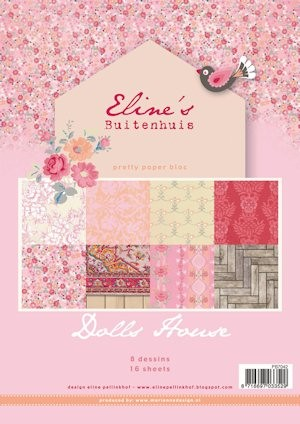 Marianne Design - Pretty Papers -Paperpack - Eline`s Doll House - PB7042