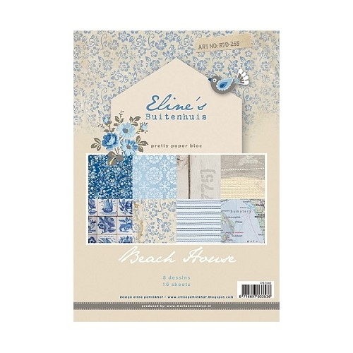 Marianne Design - Pretty Papers - Paperpack - Eline`s Beach House - PB7043