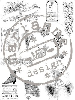 Marianne Design - Clearstamp - Victorian Ladies 1 - CS0863