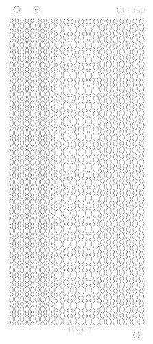 Card Deco - Stickervel - Platinum - Dot Lines: Goud
