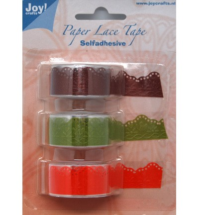 Joy! crafts - Paper Lace Tape - bloem - 6300/0404