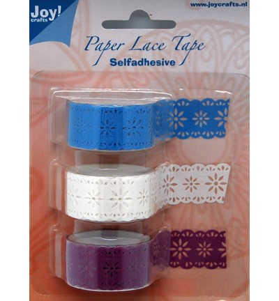 Joy! crafts - Paper Lace Tape - bloem - 6300/0401