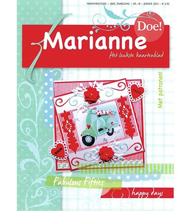 Marianne Design - Marianne Doe - Magazine No. 18 - DOE18