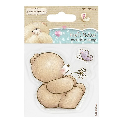 Forever Friends - Clearstamp - Kraft Notes - Thinking of you - FFS907121