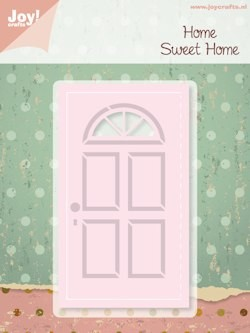 Joy! crafts - Noor! Design - Die - Home Sweet Home - Deur