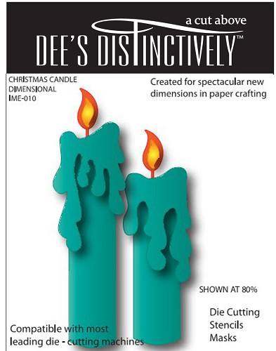 Dee`s Distinctively - Die - Candle Set