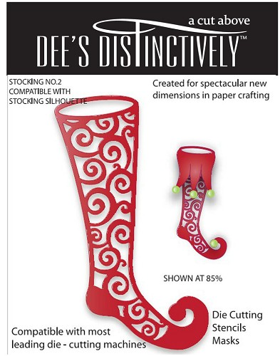 Dee`s Distinctively - Die - Stocking No.2