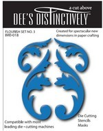 Dee`s Distinctively - Die - Flourish Set No.1