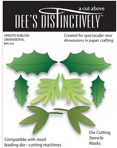Dee`s Distinctively - Die - Wreath Builder