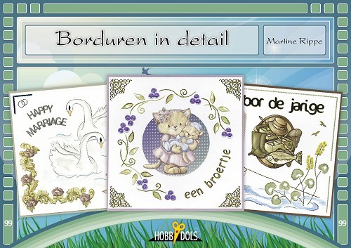 Card Deco - Hobbydols - No. 99 - Borduren in detail