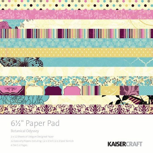 KaiserCraft - Paperpack - Botanical Odyssey - PP887