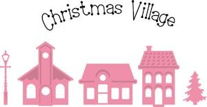 Marianne Design - Die - Collectables - Christmas mini village