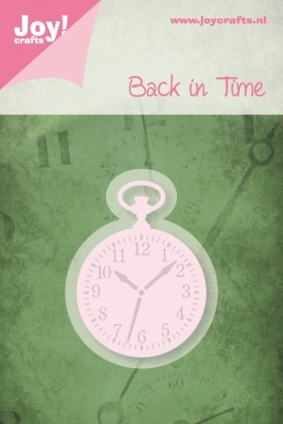 Joy! crafts - Noor! Design - Die - Back in Time - Zakhorloge