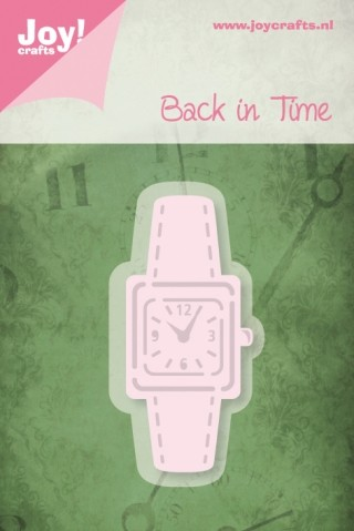Joy! crafts - Noor! Design - Die - Back in Time - Horloge