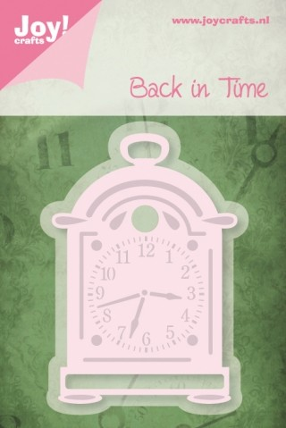 Joy! crafts - Noor! Design - Die - Back in Time - Pendule