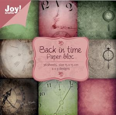 Joy! crafts - Noor! Design - Paperpack - Back in time - 6011/0020