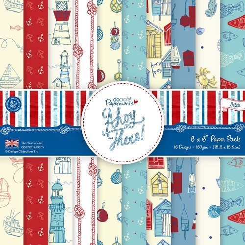 Papermania - Paperpack - Ahoy There - PMA160148