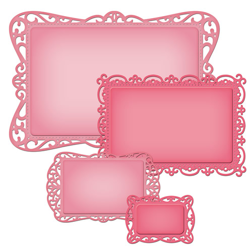 Spellbinders - Die - Nestabilities - Timeless Rectangle - S5-158