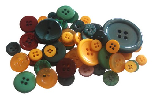 Crafts-Too - Mixed Buttons: Christmas - CT68372