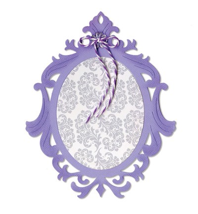 Sizzix - Die - Thinlits - Frame - Ornate Oval