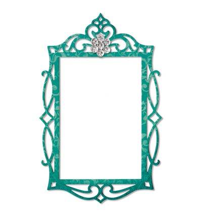 Sizzix - Die - Thinlits - Frame - Fancy Rectangle