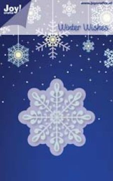 Joy! crafts - Noor! Design - Die - Winter Wishes - IJskristal - 60mm