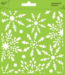 Joy! crafts - Stencil - Background - IJskristallen - 6002/0818