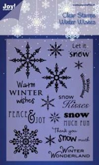 Joy! crafts - Noor! Design - Clearstamp - Winter Wishes - 6410/0104