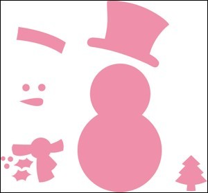 Marianne Design - Die - Collectables - Snowman