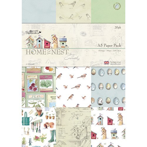 Papermania - Paperpack - Home to Nest - PMA160146